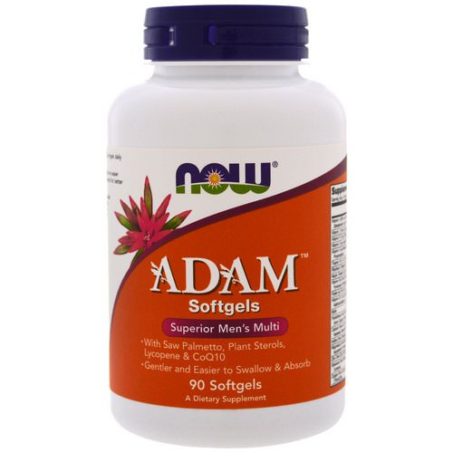 Now Foods, ADAM, Superior Men's Multi, 90 Softgels Review