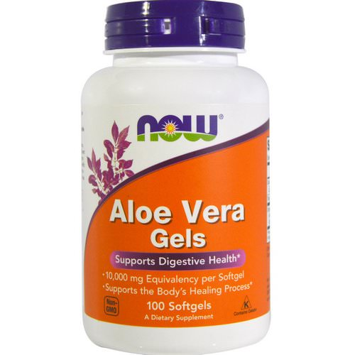 Now Foods, Aloe Vera Gels, 100 Softgels Review