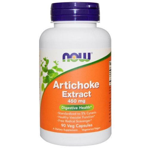 Now Foods, Artichoke Extract, 450 mg, 90 Veggie Caps Review