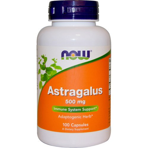 Now Foods, Astragalus, 500 mg, 100 Capsules Review