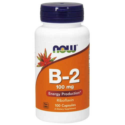 Now Foods, B-2, 100 mg, 100 Capsules Review