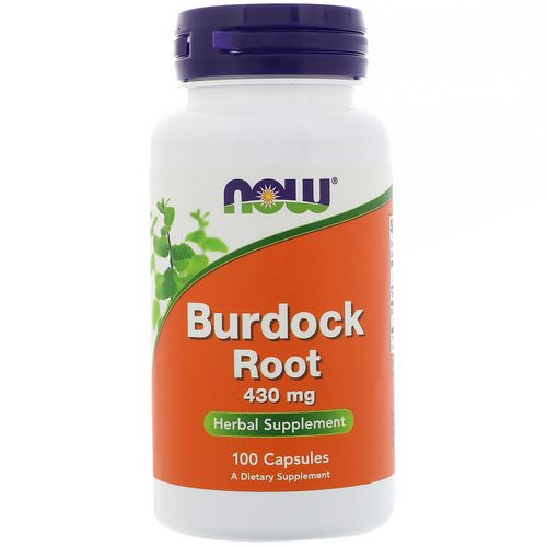 Now Foods, Burdock Root, 430 mg, 100 Capsules Review