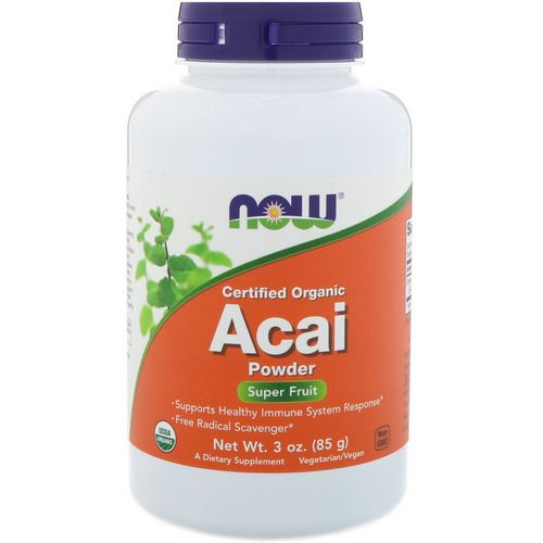 Now Foods, Certified Organic Acai Powder, 3 oz (85 g) Review