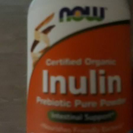 Now Foods Prebiotic Fiber Inulin