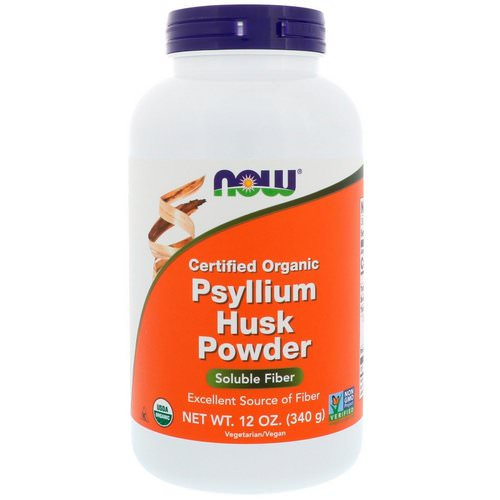 Now Foods, Certified Organic, Psyllium Husk Powder, 12 oz (340 g) Review