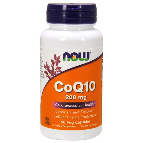 Now Foods, CoQ10, 200 mg, 60 Veg Capsules Review