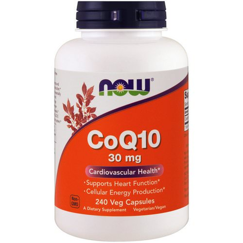 Now Foods, CoQ10, 30 mg, 240 Veg Capsules Review