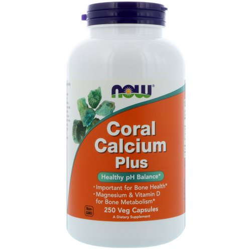 Now Foods, Coral Calcium Plus, 250 Veg Capsules Review
