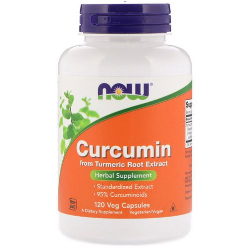 Now Foods, Curcumin, 120 Veg Capsules Review