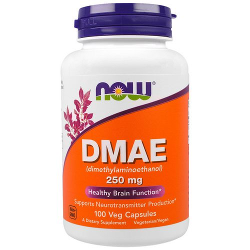 Now Foods, DMAE, 250 mg, 100 Veggie Caps Review