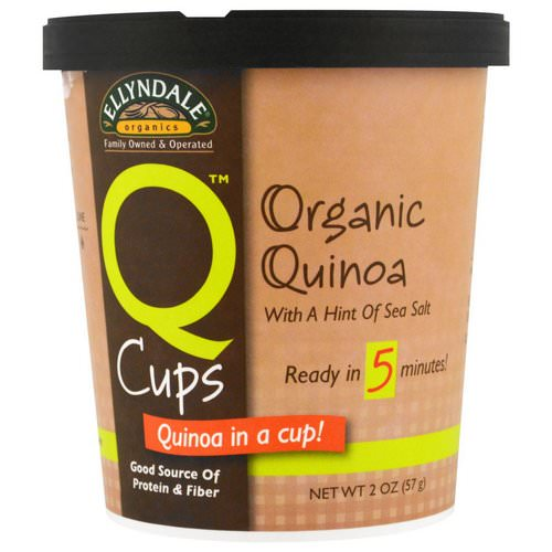 Now Foods, Ellyndale Naturals, Quinoa Cups, Organic Quinoa, 2 oz (57g) Review