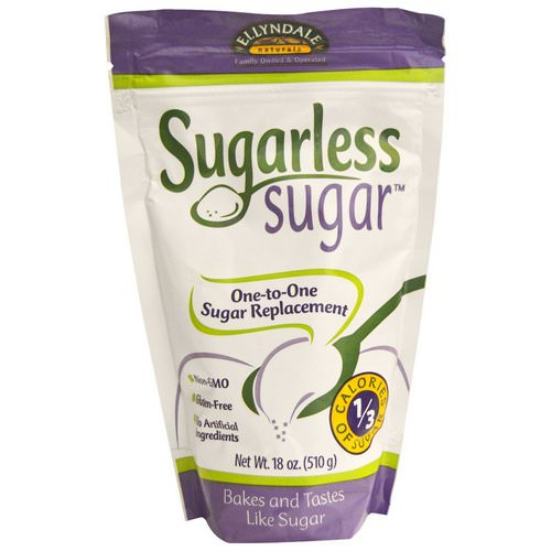 Now Foods, Ellyndale Naturals, Sugarless Sugar, 18 oz (510 g) Review