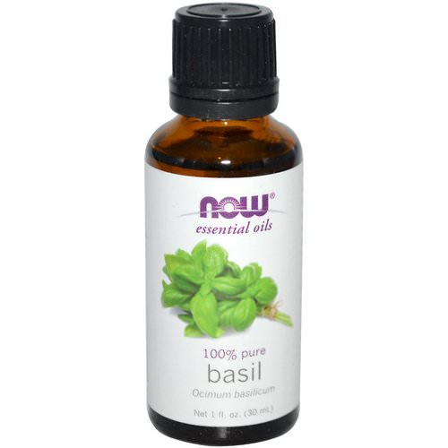 Now Foods, Essential Oils, Basil, 1 fl oz (30 ml) Review