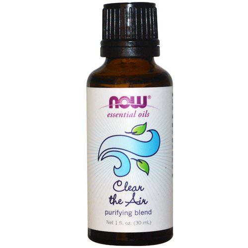 Now Foods, Essential Oils, Clear the Air, Purifying Blend, 1 fl oz (30 ml) Review