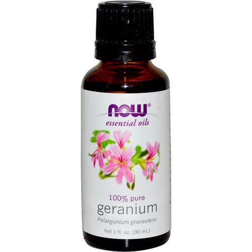 Now Foods, Essential Oils, Geranium, 1 fl oz (30 ml) Review