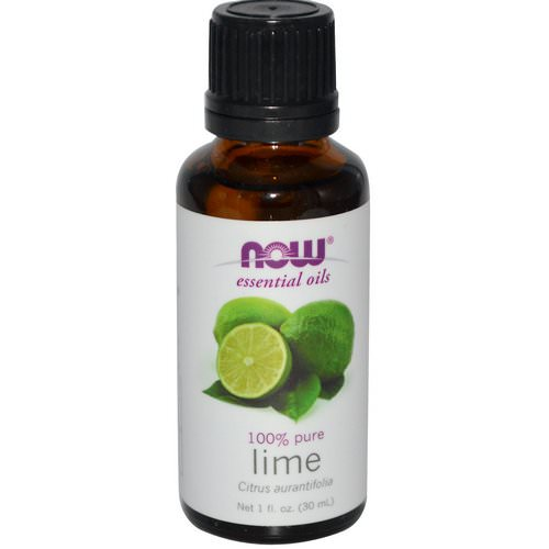 Now Foods, Essential Oils, Lime, 1 fl oz (30 ml) Review