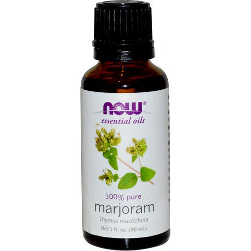 Now Foods, Essential Oils, Marjoram Oil, 1 fl oz (30 ml) Review