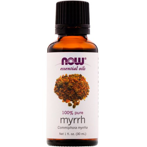 Now Foods, Essential Oils, Myrrh, 1 fl oz (30 ml) Review