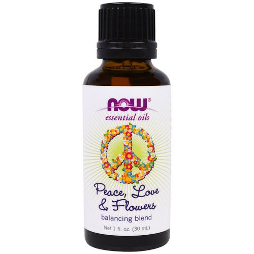 Now Foods, Essential Oils, Peace, Love & Flowers, Balancing Blend, 1 fl. oz (30 ml) Review