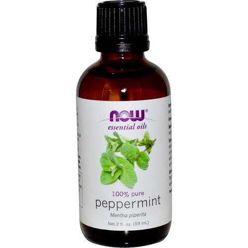 Now Foods, Essential Oils, Peppermint, 2 fl oz (59 ml) Review