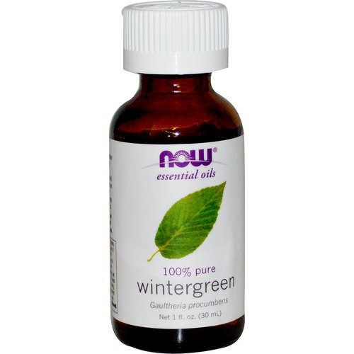 Now Foods, Essential Oils, Wintergreen, 1 fl oz (30 ml) Review