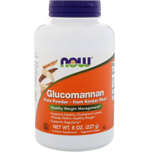 Now Foods, Glucomannan, Pure Powder, 8 oz (227 g) Review