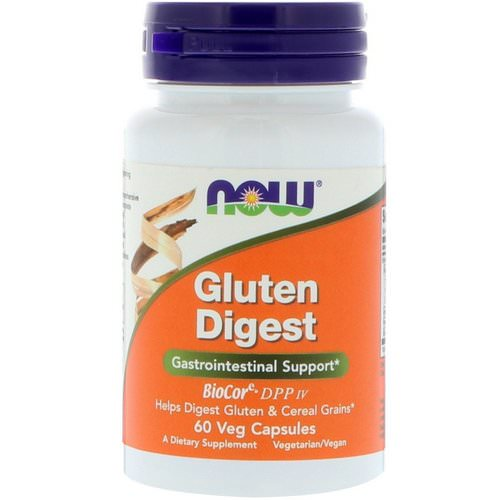 Now Foods, Gluten Digest, 60 Veg Capsules Review