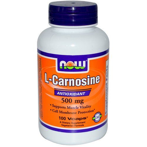 Now Foods, L-Carnosine, 500 mg, 100 Veg Capsules Review