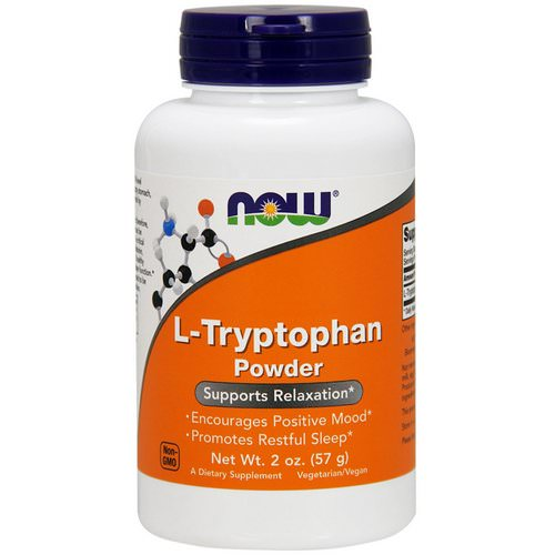 Now Foods, L-Tryptophan Powder, 2 oz (57 g) Review