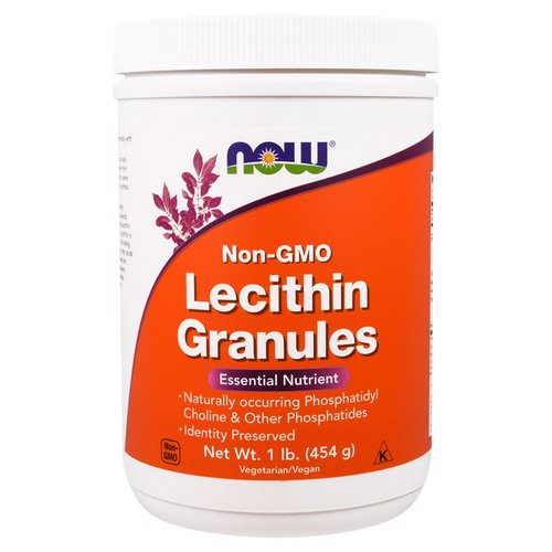 Now Foods, Lecithin Granules, Non-GMO, 1 lb (454 g) Review