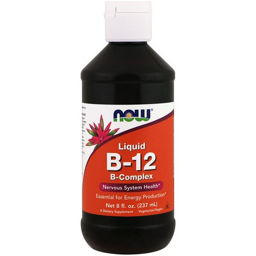 Now Foods, Liquid B-12, B-Complex, 8 fl oz (237 ml) Review