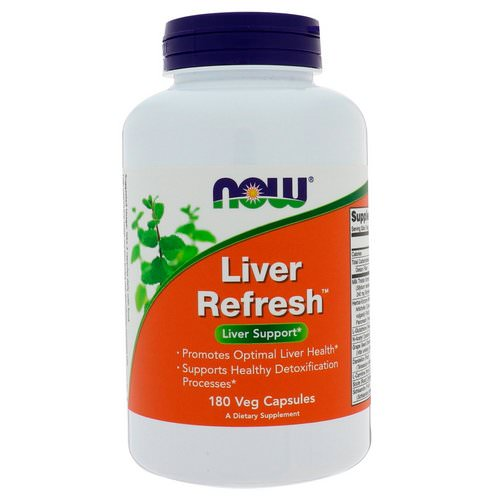 Now Foods, Liver Refresh, 180 Veg Capsules Review