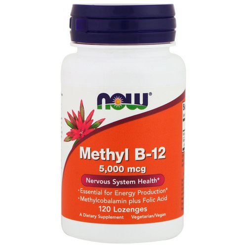 Now Foods, Methyl B-12, 5000 mcg, 120 Lozenges Review