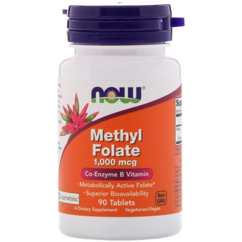 Now Foods, Methyl Folate, 1,000 mcg, 90 Tablets Review