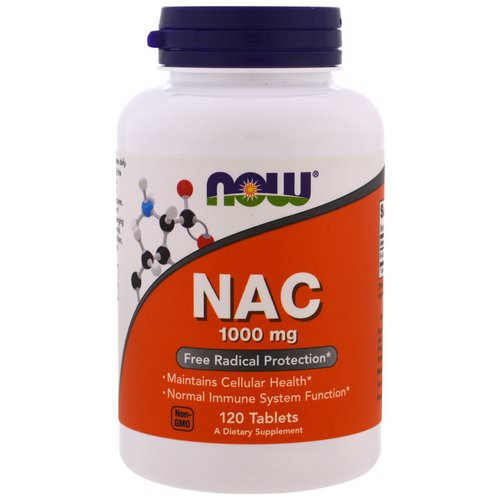 Now Foods, NAC, 1000 mg, 120 Tablets Review