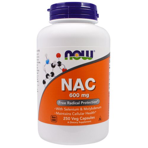 Now Foods, NAC, 600 mg, 250 Veg Capsules Review