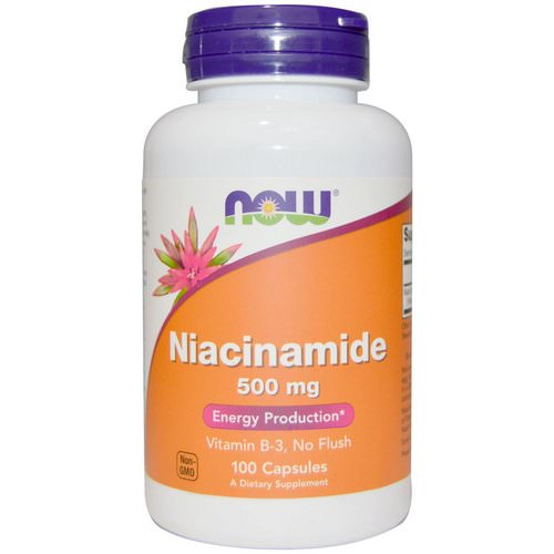 Now Foods, Niacinamide, 500 mg, 100 Capsules Review