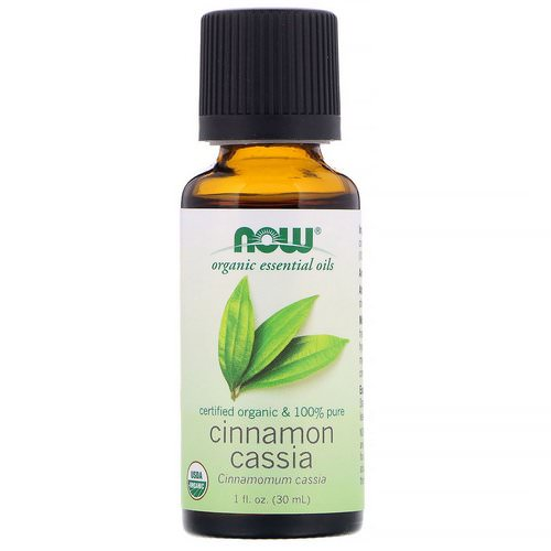 Now Foods, Organic Essential Oils, Cinnamon Cassia, 1 fl oz (30 ml) Review