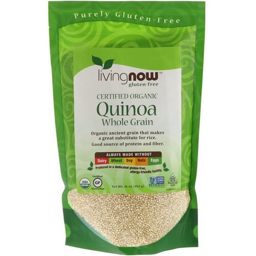 Now Foods, Organic Quinoa, Whole Grain, 16 oz (454 g) Review
