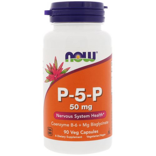 Now Foods, P-5-P, 50 mg, 90 Veg Capsules Review