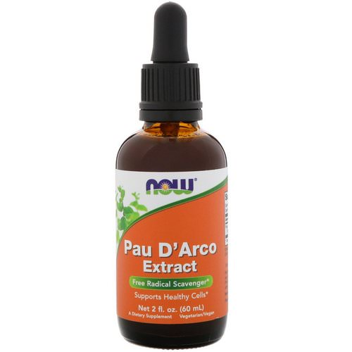 Now Foods, Pau D'Arco Extract, 2 fl oz (60 ml) Review