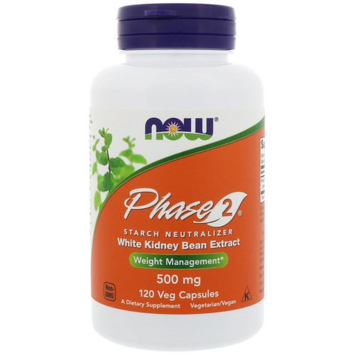 Now Foods, Phase 2 Starch Neutralizer, 500 mg, 120 Veg Capsules Review