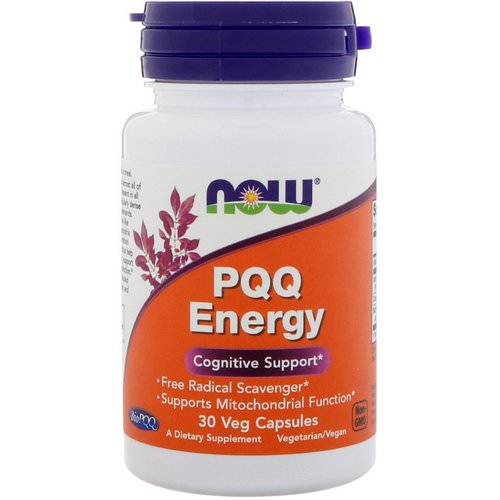 Now Foods, PQQ Energy, 30 Veg Capsules Review