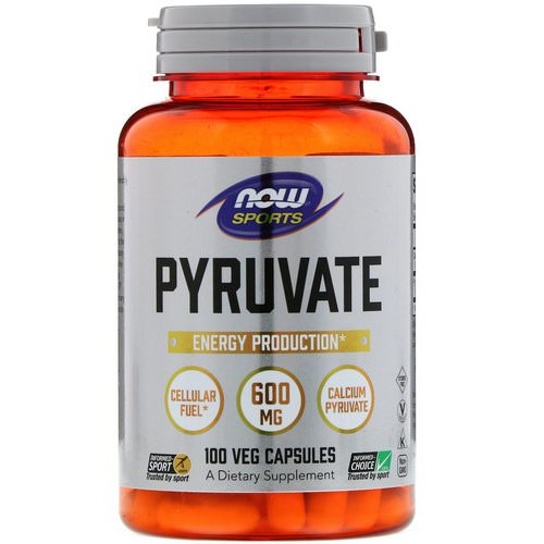 Now Foods, Pyruvate, 600 mg, 100 Veg Capsules Review