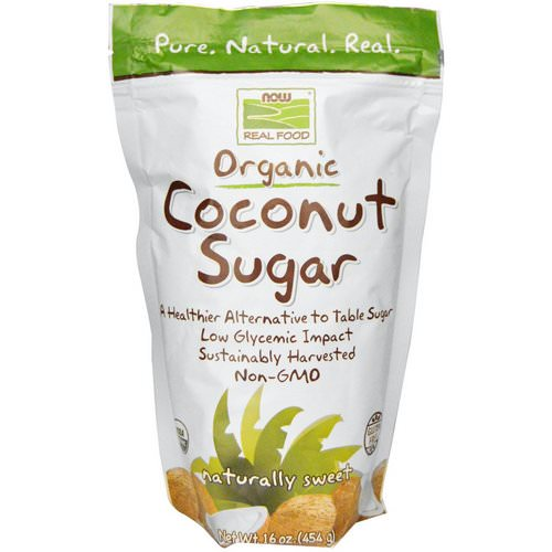 Now Foods, Real Food, Organic Coconut Sugar, 16 oz (454 g) Review