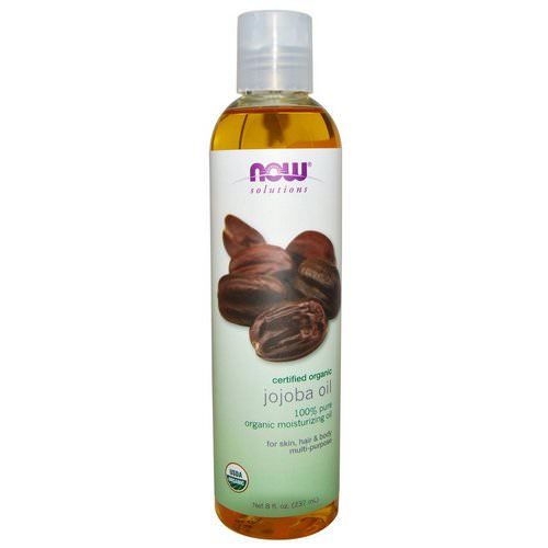 Now Foods, Solutions, Certified Organic, Jojoba Oil, 8 fl oz (237 ml) Review