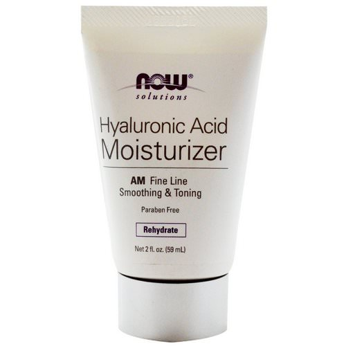 Now Foods, Solutions, Hyaluronic Acid Moisturizer, 2 fl oz (59 ml) Review