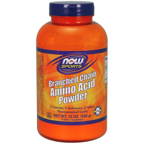 Now Foods, Sports, Branched Chain Amino Acid Powder, 12 oz (340 g) Review