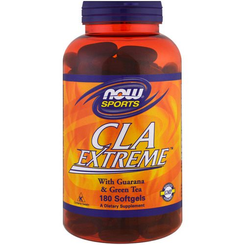 Now Foods, Sports, CLA Extreme, 180 Softgels Review