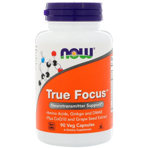 Now Foods, True Focus, 90 Veg Capsules Review